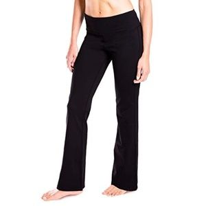 Athletic Works yoga bell bottom pants (Bin 13-Q)